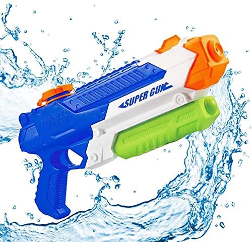 Wasserpistole Spielzeug,Wasserpistolen mit Wassertank,1200ML Groß Water Blaster Water Gun Spielzeug mit...