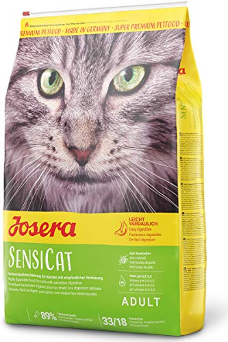 JOSERA SensiCat (1 x 10 kg) | Katzenfutter mit extra verträglicher Rezeptur | Super Premium...