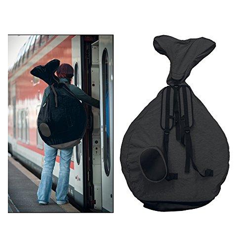 Rucksack QU-AX für Einrad 20'; für Einrad, schwarz