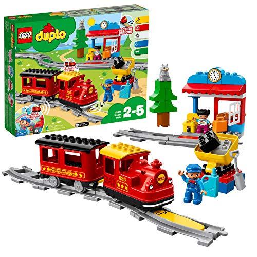Spielzeug-Eisenbahn 'Dampfeisenbahn' von LEGO duplo