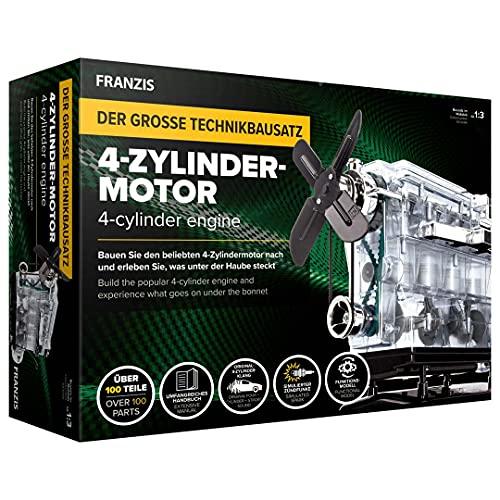 Franzis Verlag 4-Zylinder-Motor 67175 Bausatz ab 14 Jahre