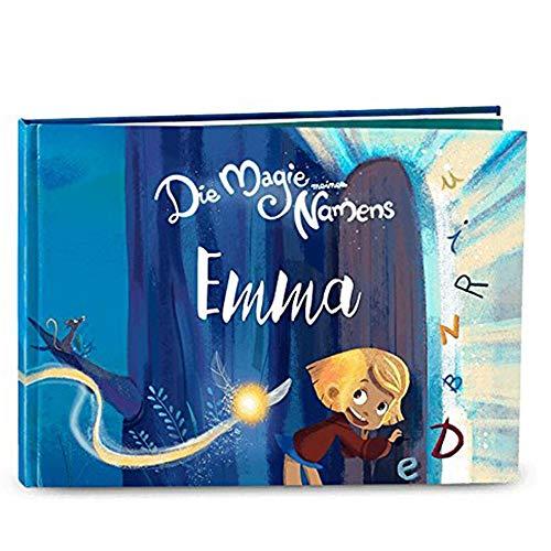 My Magic Story deutsches Kinderbuch personalisiert - Die Magie meines Namens 0-8 Jahre