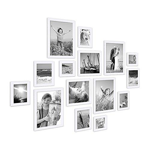 Bilderrahmen-Collage