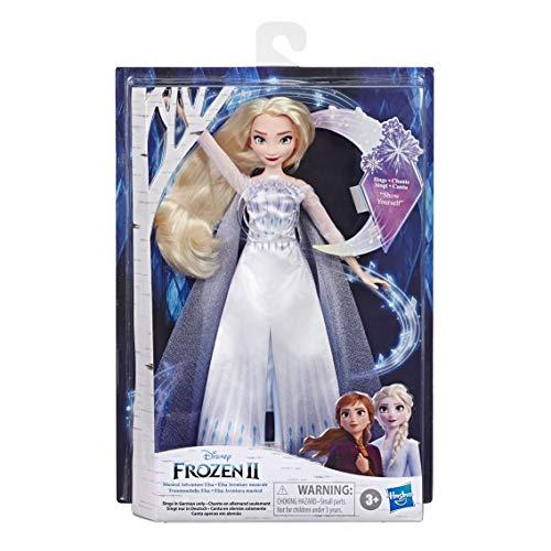 """Disney Eiskönigin Traummelodie ELSA singende Puppe, singt das Lied """"Zeige Film Die Eiskönigin 2,..."""