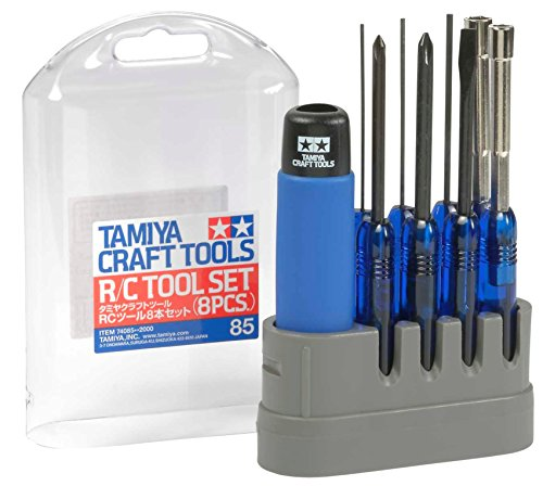 TAMIYA 300074085 - RC-Werkzeugset, 8-teilig