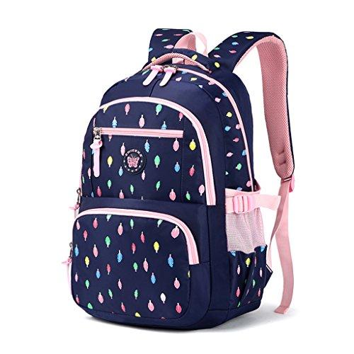 Mädchen Rucksack Rucksack, Schultasche für Kinder Kleinkinder Studenten Bookbag Lässiger Tagesrucksack...