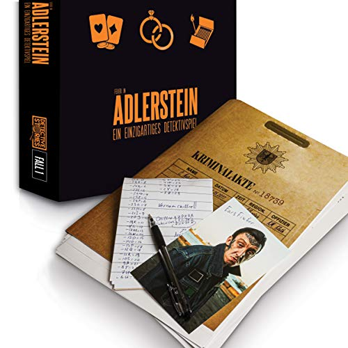 iDventure Detective Stories - Fall 1: Das Feuer in Adlerstein - Spannendes Escape Room Spiel [1–6+...