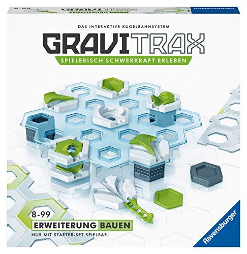 Ravensburger GraviTrax Erweiterung Bauen - Ideales Zubehör für spektakuläre Kugelbahnen,...