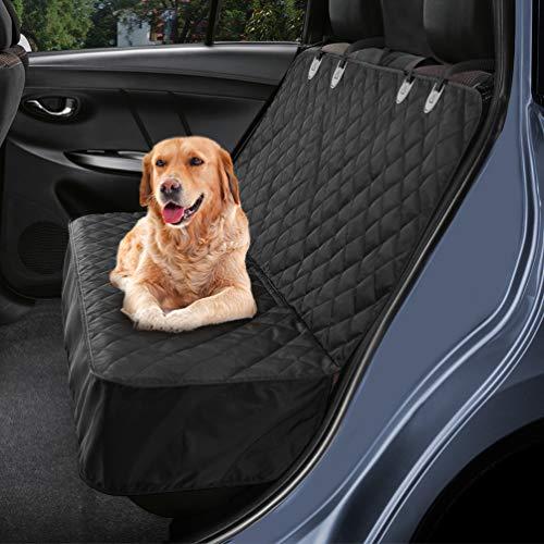 Petacc Hundedecke für Auto Rückbank, Hundedecke Kofferraum Wasserdicht und rutschfest für Komplett...