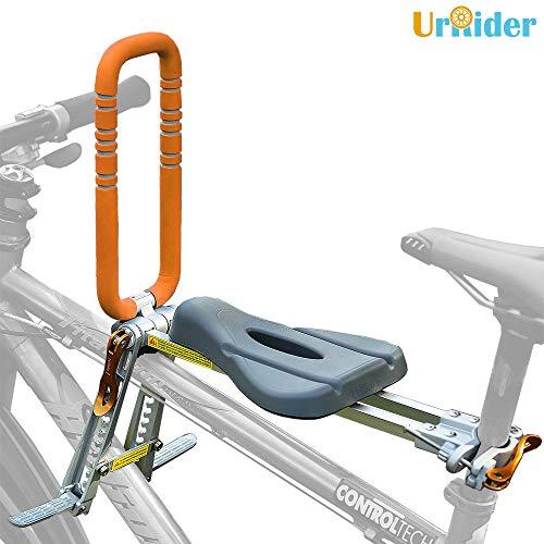 UrRider Kinderfahrradsitz, Vorneliegender Fahrradsitz für Kinder, Faltbarer und ultraleichter...