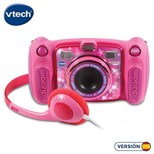 VtechKidizoom Duo 5.0Digitale Kamera für Kinder, 5MP, Farbdisplay, 2Objektive, Pink Spanische...