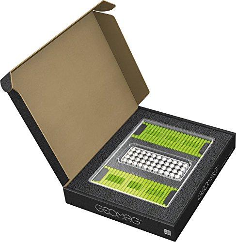 GEOMAG Masterbox Large 186 - Magnetstäbe Spielzeug - Hellgrün - 248-teilige Box
