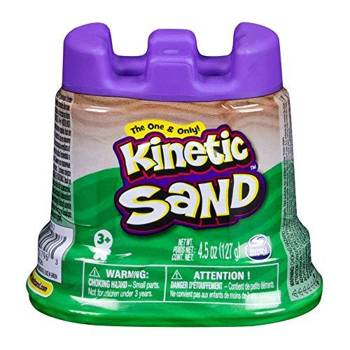 Kinetic Sand 6035812 - wiederverschließbarer Behälter (127g), farblich sortiert