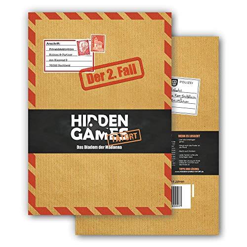 Hidden Games Tatort Krimispiel Fall 2 Das Diadem der Madonna, Escape Room Spiel