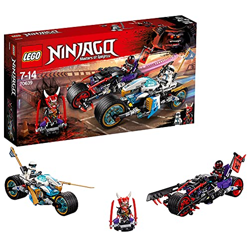 LEGO 70639 Ninjago Straßenrennen des Schlangenjaguars