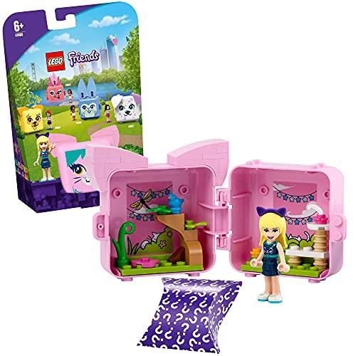 LEGO 41665 Friends Magische Würfel Stephanies Katzen-Würfel Mini-Set Serie 4, Spielzeug für unterwegs,...