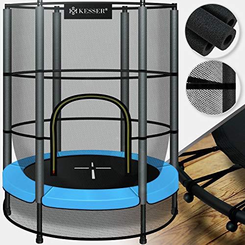 KESSER® Trampolin Gartentrampolin Kindertrampolin Indoor-Outdoor-Trampolin, Ø 140 cm, mit...