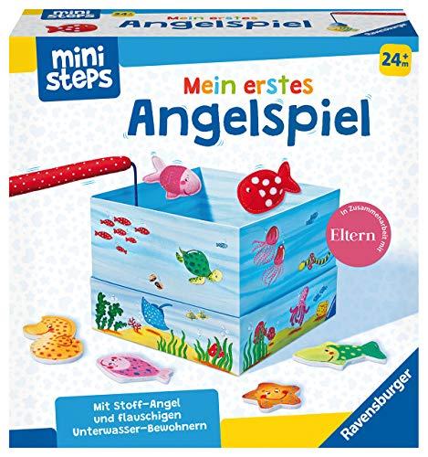 Ravensburger ministeps 4174 Mein erstes Angelspiel, Erstes Geschicklichkeitsspiel mit weicher...