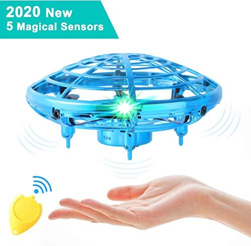 semai UFO Drohne, UFO Flying Ball, Kinder Mini Drohne, Fliegender Ball Handsteuerung, Flugzeuge...