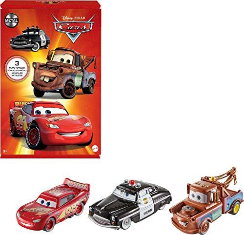 Disney Pixar Cars HBW14 - Disney Pixar Fahrzeuge Radiator Springs 3er-Packung, beliebte...
