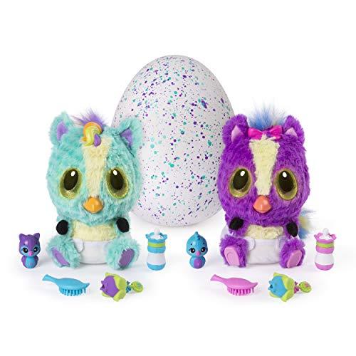 Hatchimals 6044070 - HatchiBabies Ponette, Baby - Hatchimal mit interaktiven Accessoires