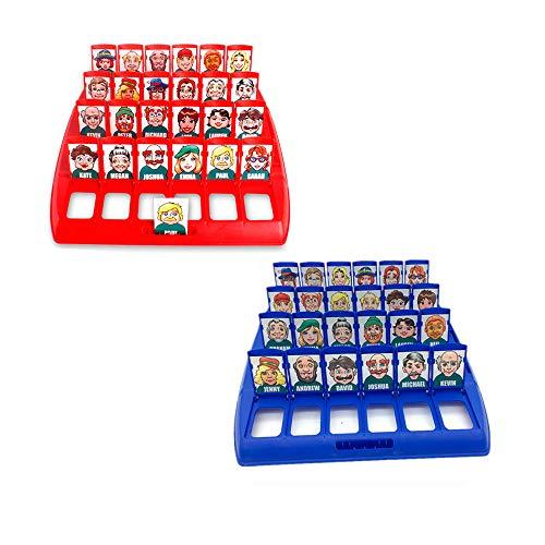 Amasawa Wer ist es Lustiges Ratespiel Brettspiel Eltern Kind Interaktives Spielzeug Logische...
