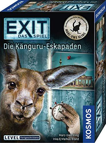 KOSMOS 695071 EXIT - Das Spiel - Die Känguru-Eskapaden, für Fans von Marc-Uwe Klings...