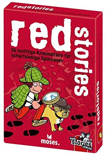 moses. black stories Junior red stories   50 knifflige Kriminalfälle für scharfsinnige Spürnasen   Das...