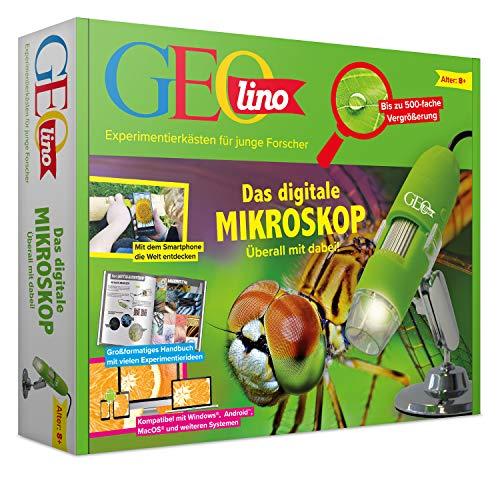 FRANZIS GEOlino Das digitale Mikroskop |überall mit dabei | Bis zu 500-fache Vergrößerung | Ab 8...