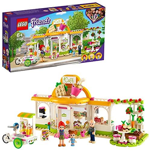 LEGO 41444 Friends Heartlake City Bio-Café Set, Restaurant Spielzeug ab 6 Jahren mit Mia und Anderen...