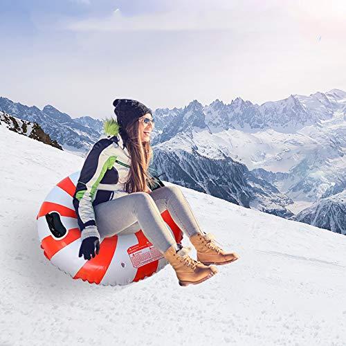 SkinStar Profi Snow Tube Schlitten Bob Rodel Reifen Schneereifen Rutschreifen /Ø100cm