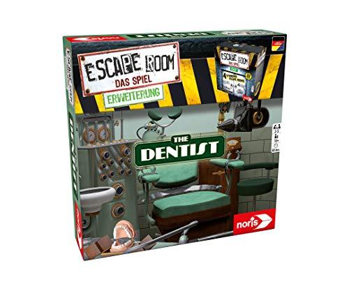 Noris 606101775 - Escape Room Erweiterung The Dentist - Familien und Gesellschaftsspiel für Erwachsene -...