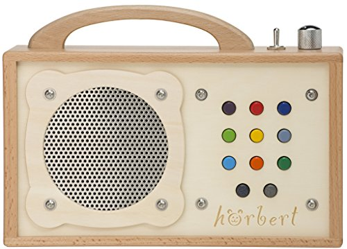 MP3-Player für Kinder: hörbert. Testsieger der Stiftung Warentest. Made in Germany. Seine 9 Playlists...