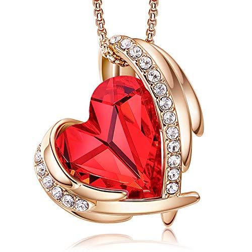 CDE Damen Halskette Geschenk zum Valentinstag, Halskette Schmuck mit Geschenkbox, ldeal Geschenk für...