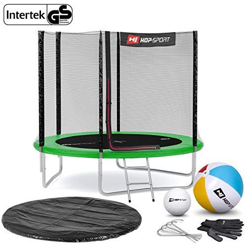 Hop-Sport Gartentrampolin Outdoor Trampolin 244, 305, 366, 430, 490 cm Komplettset inkl. Außennetz...