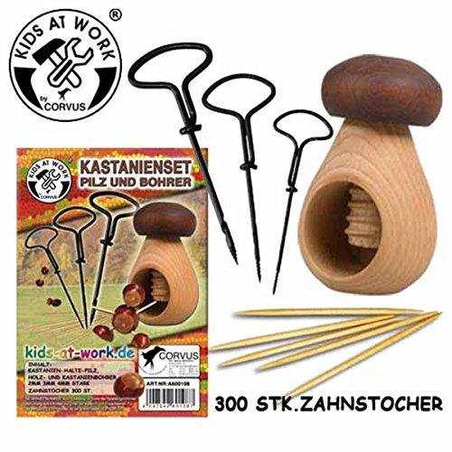 Kastanien-Bastel-Set