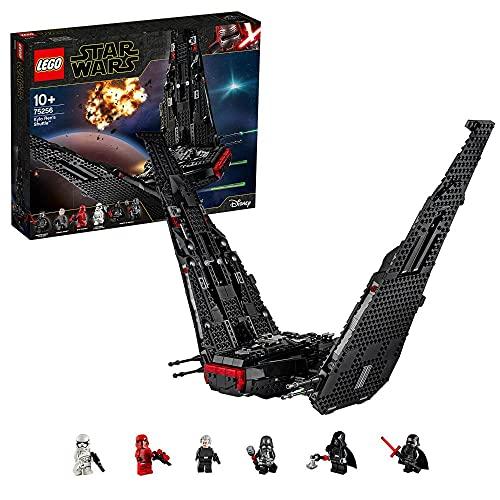 Lego 75256 Star Wars Kylo Rens Shuttle, Raumschiff-Bauset mit 2 Spring Shootern, Der Aufstieg Skywalkers...