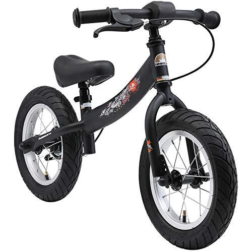 BIKESTAR Laufrad Laufrad mit Seitenständer und Bremse für Kinder ab 3 Jahren | 12 Zoll Sport Edition |...