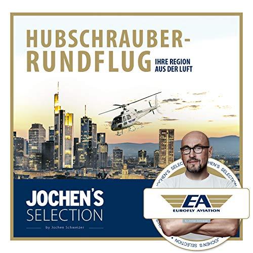 Eurofly Aviation Hubschrauber Rundflug 30 Minuten in 1 von 12 Städten I Wahlgutschein für Helikopter...