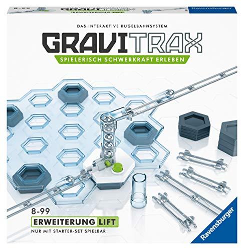 Ravensburger GraviTrax Erweiterung Lift - Ideales Zubehör für spektakuläre Kugelbahnen,...
