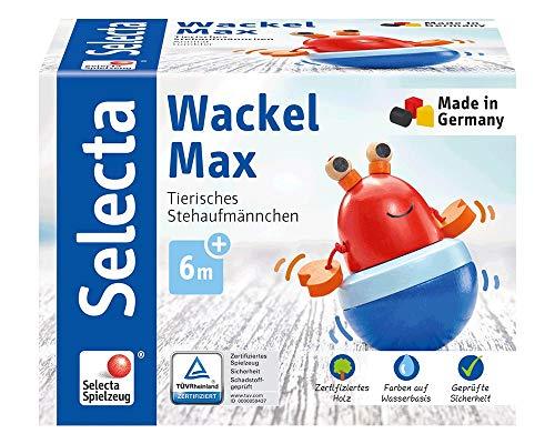 Selecta 61066 Wackel Max, Wackelfigur, mehrfarbig