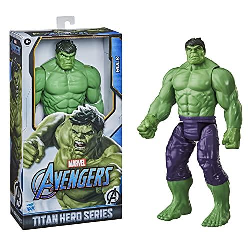 Hasbro E74755L2 Marvel Avengers Titan Hero Serie Blast Gear Deluxe Hulk Action-Figur, 30 cm großes...