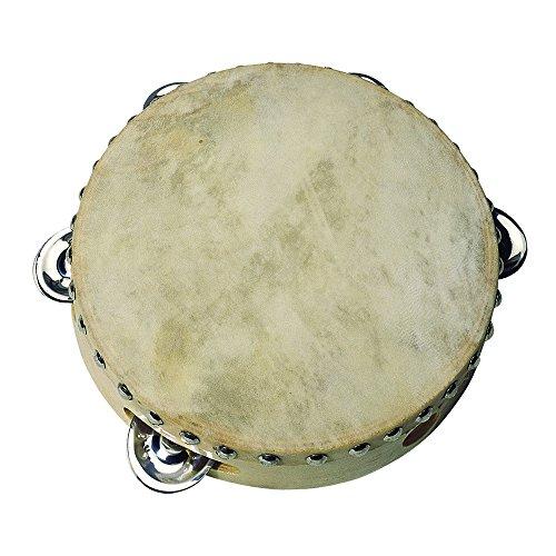 goki UC085 - Musikinstrument - Tamburin mit 5 Schellen