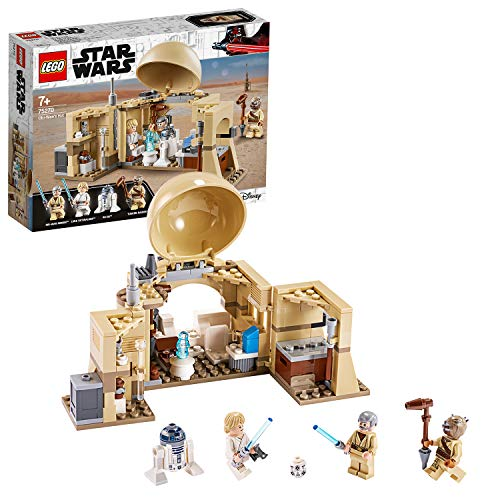 LEGO75270StarWarsObi-WANSHütteBausetmitHologrammderPrinzessinLeia,SerieEineNe...
