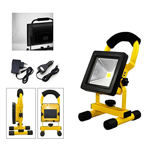 fsders A-1-HG3405 VINGO LED Tragbare 1800LM Strahler handlampe Wasserdicht Fluter Baulicht 4800MA...