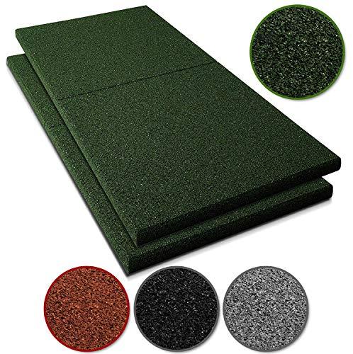 Fallschutzmatten Play Protect Plus   extragroß   grün   Fallschutz made in Germany   einzeln oder im...