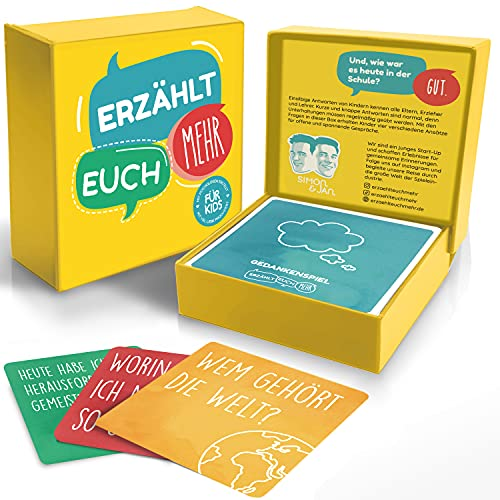 Erzählt euch mehr für Kids - Kommunikationsspiel für Kinder - Achtsamkeit und Selbstreflexion...