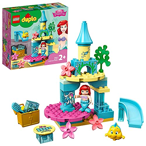 LEGO 10922 DUPLO Disney Princess Arielles Unterwasserschloss Bauset mit Arielle der kleinen Meerjungfrau...