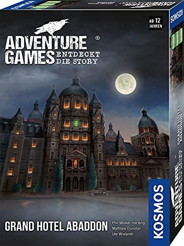 KOSMOS 693190 Adventure Games - Grand Hotel Abaddon. Entdeckt die Story, Kooperatives Gesellschaftsspiel...