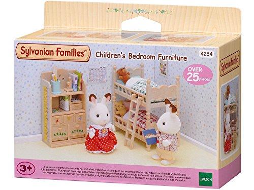 Sylvanian Families 4254 Kinderzimmer-Möbel - Puppenhaus Einrichtung Möbel